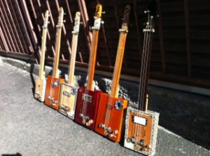 McTrustry cigar box guitars in Sydney