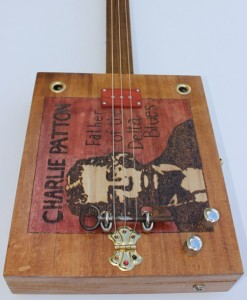 'Charlie Patton' cigar box guitar